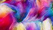 canvas print picture - Visualization of Digital Paint