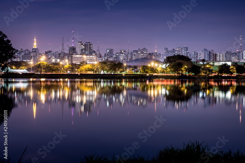 Fotografía  Noite em São Paulo, Brasil