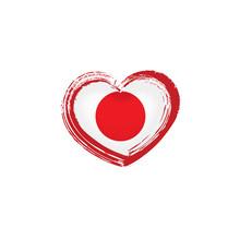Japan Flag, Vector Illustratio...