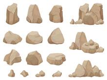 Stone Rock. Stones Boulder, Gr...
