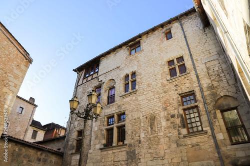 Fotografiet  Habitation médiévale urbaine