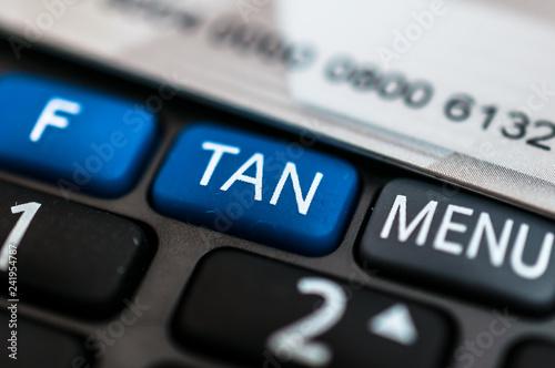 Fotografija  Online Banking, Optical chipTAN Generator