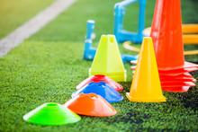 Soccer Training Equipment On G...