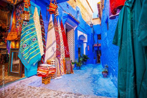 Papiers peints Maroc Chefchaouen blue city of Morocco