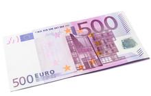 500 Euro Money Banknote Isolat...