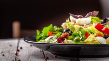 Spanish Cuisine. Mixed Salad F...