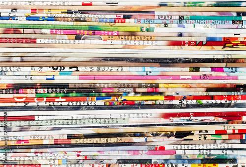 Fotografiet  Multi-colored paper texture
