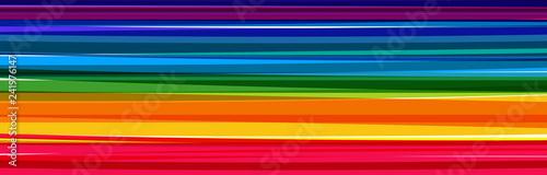 Fotografie, Obraz  Fond bandes multicolores
