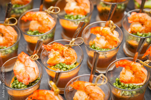 Fotografia Fingerfood - herzhafte Snacks für Party und Buffet
