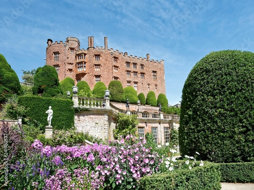 Wales - Welshpool - Powis Castle - Buy this stock photo and