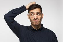 Caucasian Man Wearing Glasses ...