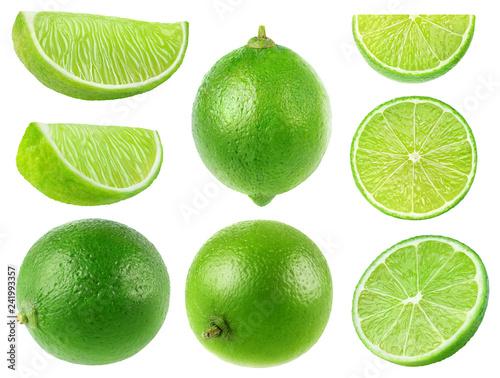 Fototapeta  Isolated limes