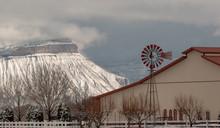 Ranch Under Mt. Garfield Mesa ...