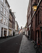 Canal houses in Utrecht city, the Netherlands