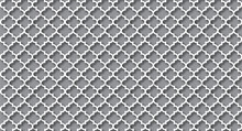 Grey Quatrefoil Background