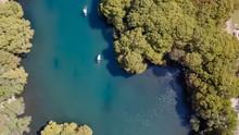 Camecuaro Lake In Michoacan Mexico
