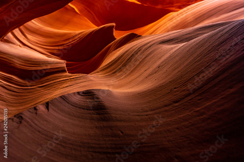 Canvas Prints American Famous Place Lower Antelope Canyon