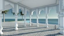 Arabian Pavilion Sea View 3D R...