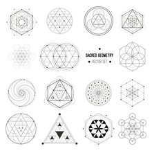 Vector Set Of Sacred Geometry ...