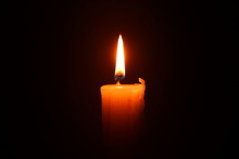 Candle Flame, Warm Light, Fire