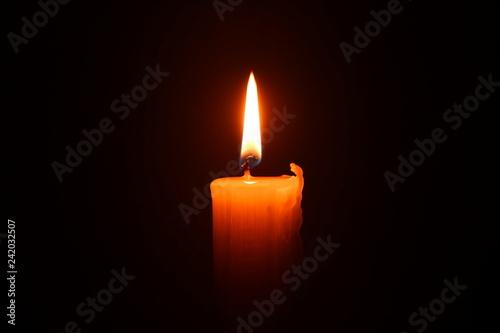 candle flame, warm light, fire Fototapete