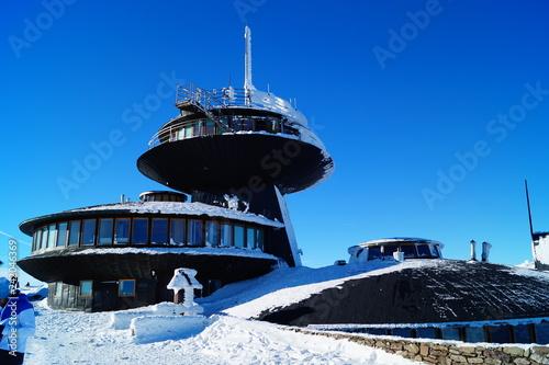 Fototapeta zima-snieżka-góry-polska obraz