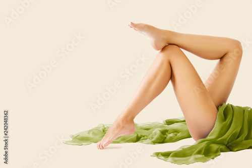 Fotografía Woman Legs Beauty and Body Skin Care, Female Epilation and Hair Removal