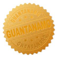 GUANTANAMO Gold Stamp Medallio...