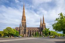 St Patrick's Cathedral In Melbourne, Australia