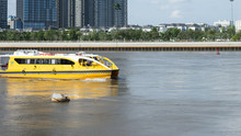 Public Water Boat Taxi On The ...