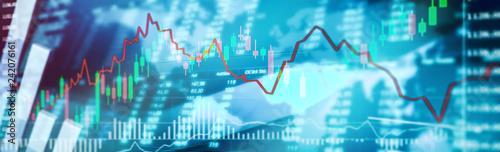 Fotomagnes Börsen Chart Trading