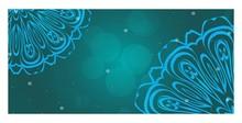 Decorative Banner With Round M...
