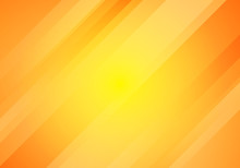 Abstract Yellow And Orange Gradient Color Oblique Lines Stripes Background.