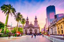 Plaza De Armas, Santiago De Chile, Chile
