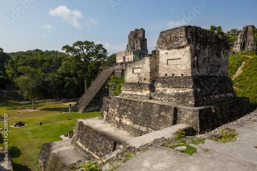 Deurstickers Historisch geb. Tikal
