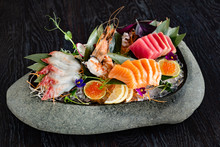 Japanese Foods Sashimi (raw Sl...