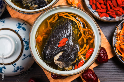 Nutrition and health of black-bone chicken soup