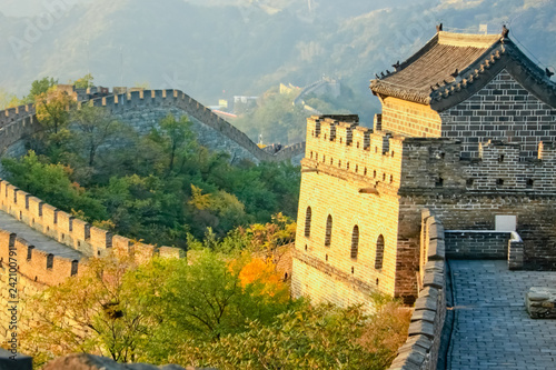 Muraille de Chine The fortress tower Plot Mutianyu Great Wall