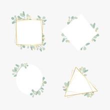 Botanic Wedding Frame Set