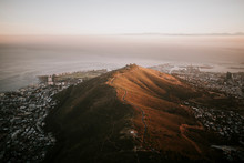Morning View On Signal Hill, Cape Town