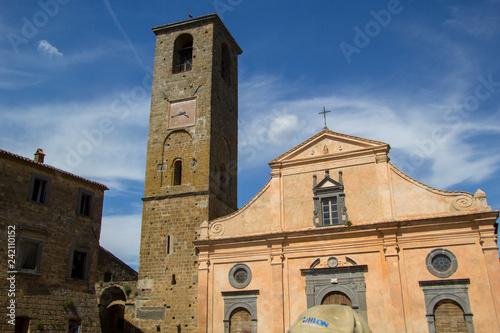 Fotografie, Obraz  Civita di Bagnoregio, Lazio, Italy
