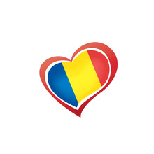 Romania Flag, Vector Illustrat...