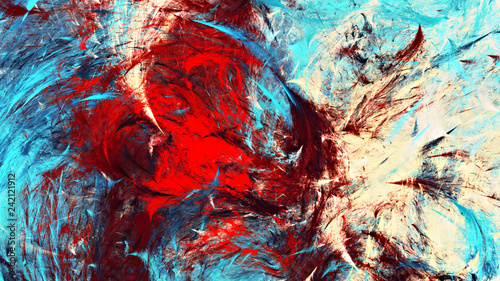 Fototapeta reprodukcje  malarstwa-abstrakcyjnego-kolor-tekstury-z-efektem-oswietlenia-jasne-tlo-artystyczne-zimne-nowoczesny