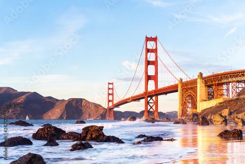 Photo  San Francisco best sunset watching  spot   - Marshal's beach.