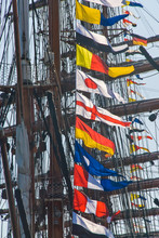 Maritime Colorful Signal Flags