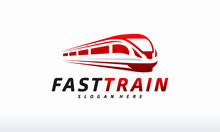 Fast Train Logo Designs Concep...