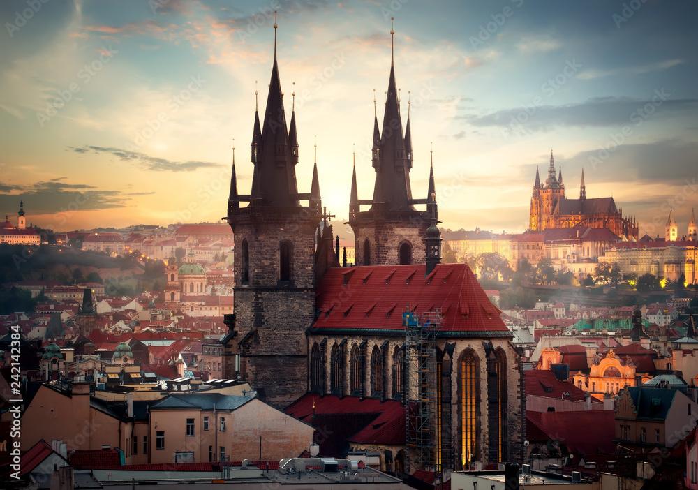 Fototapety, obrazy: Katedry w Pradze