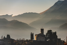 Barga - Medieval Town And Apuan Alps