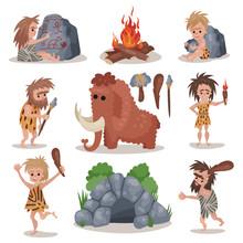 Prehistoric Stone Age Set, Pri...