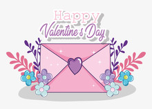 Loe Card To Valentine Day Cele...